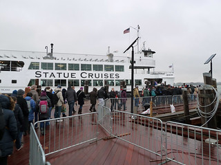 Line for Statue Cruises | by Rob Young