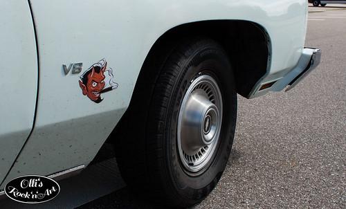 2013-05-18 - Walldorf - R'n'R Weekender 2013 - Chevrolet Impala  - 005 von 009.jpg Photo