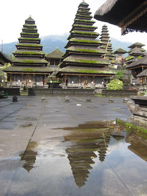 The Pura Agung Besakih Temple, Bali