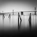 Bay Bridge during sunrise, San Francisco California by Sebastian (sibbiblue)