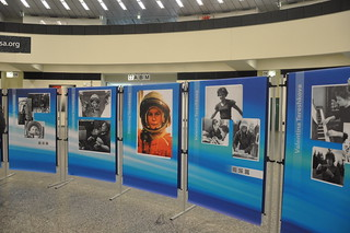 Space Exhibition on the occasion of the Celebration of 50 years of women in space by UNOOSA