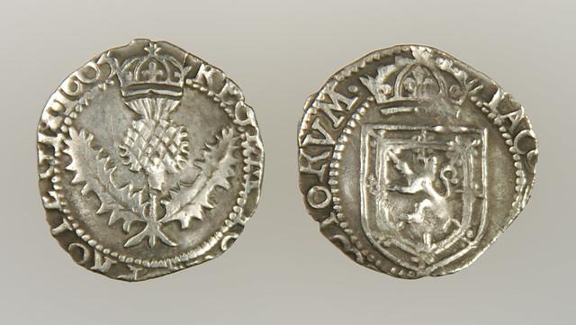 Scottish James VI Eighth Thistle Merk, 1603 (2008)