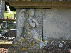 angel on the tomb of Arthur Hugh Cecil Fitzroy