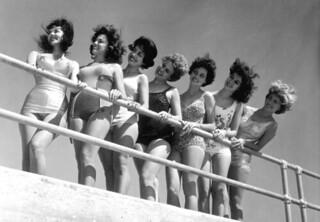 Beauty contestants at Tri-City Suncoast Festival: St. Petersburg, Florida