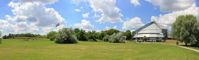 Opusztaszer  National Historical Memorial Park - panorama