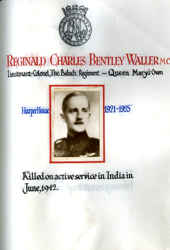Waller, Reginald Charles Bentley (1907-1942) | by sherborneschoolarchives