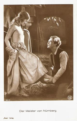 Gustav Fröhlich and Maria Solveg in Der Meister von Nürnberg (1927)