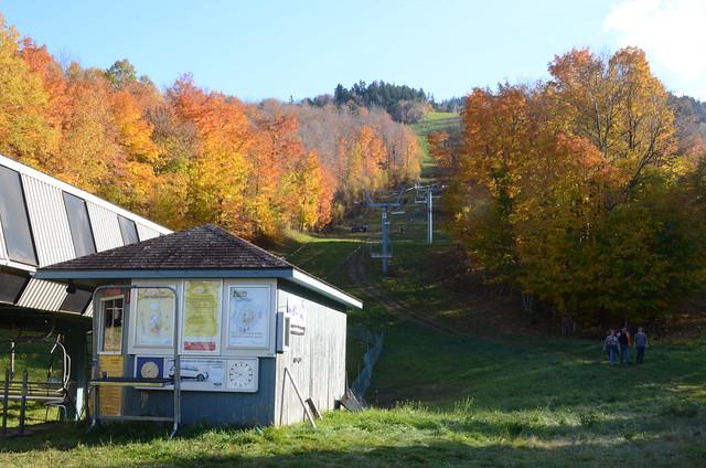 La Station Du Remonte-Pente 1 Du Mont Owl's Head.