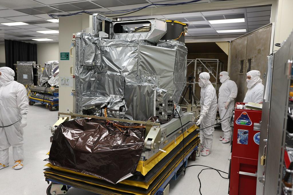 GOES-R Advanced Baseline Imager | Engineers at Exelis prepar