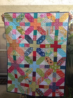 Baby quilt #1 done