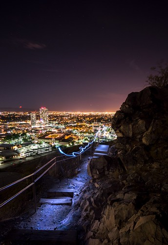 longexposure arizona night nikon asu lighttrails tempe amountain d3200 amountainhaydenbuttepreserve