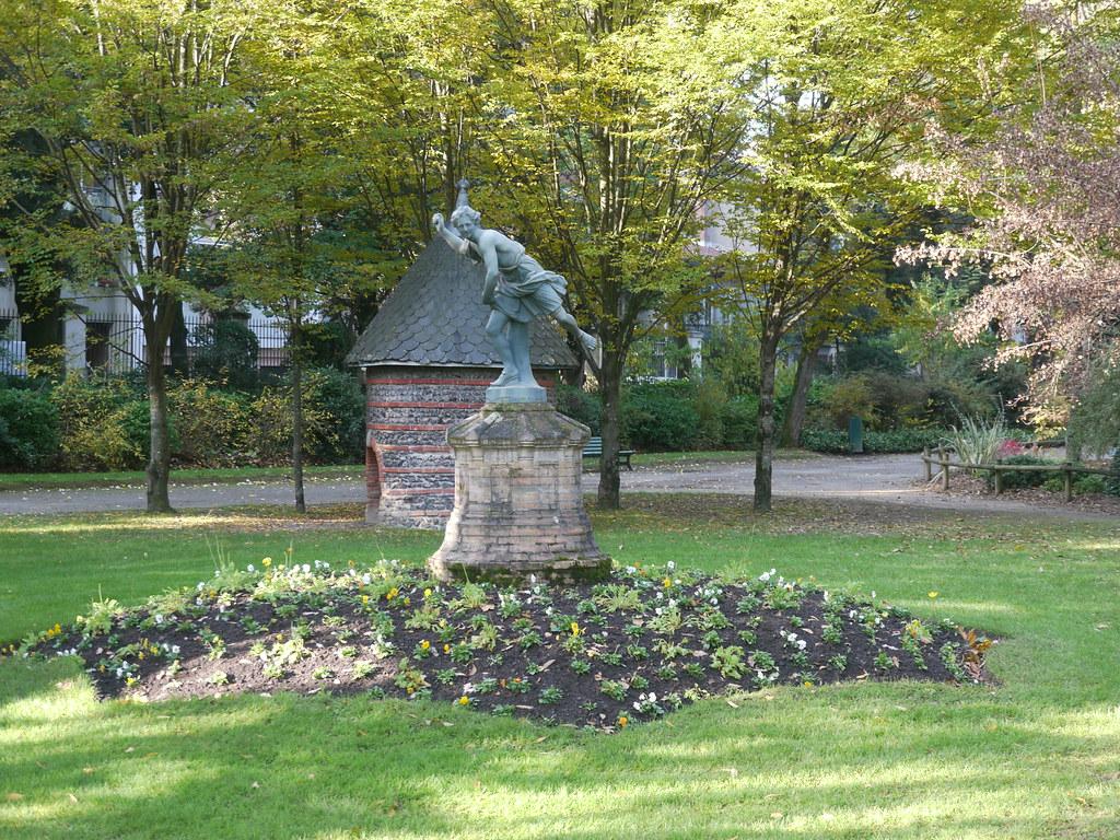 Toulouse, Haute-Garonne: au Jardin des Plantes, Hippomène ...