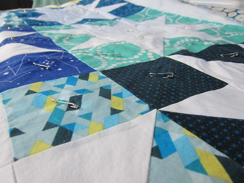 White Star Quilt   by Everyday Fray