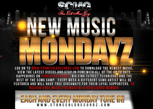 new music monday   by Stone Cold Recordz