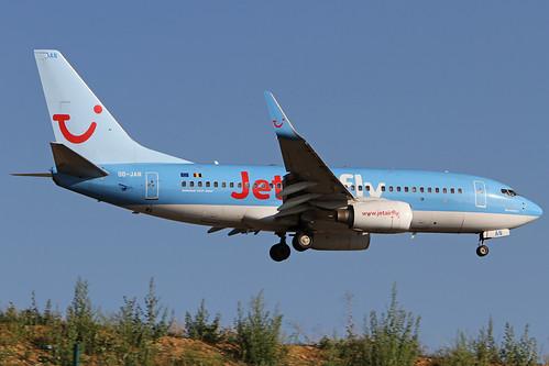 JetairFly 737 OO-JAN