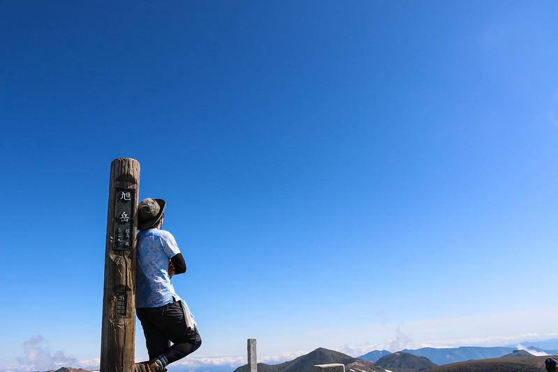 大雪山 旭岳の山頂