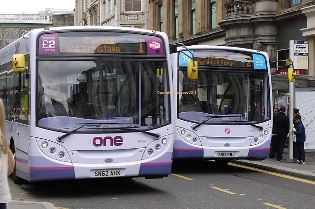 First Glasgow 67737 & 67812