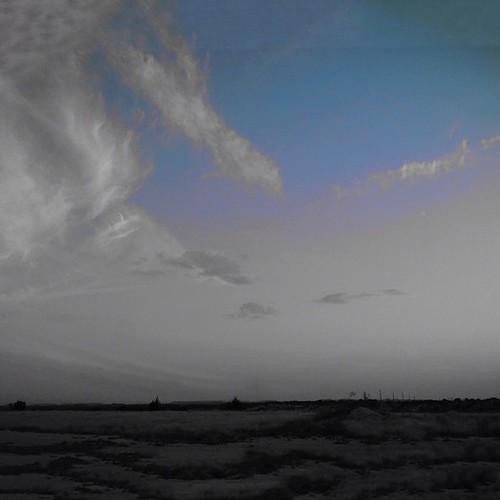 sky blackandwhite landscape blackandwhiteandcolor handyphoto topseytexas iphoneography kitcam