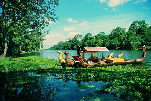Landscape at Angkor Wat