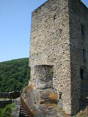 Buerg Esch-Sauer,Bergfried