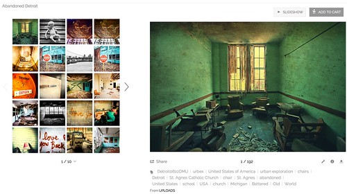 My Abandoned Detroit Set on the New SmugMug   by Thomas Hawk