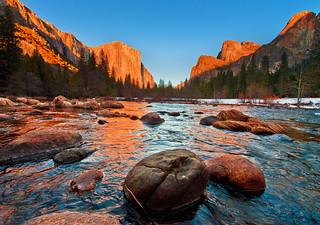 Yosemite National Park - Valley View Sunset | by Tom.Bricker