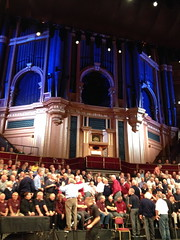 Massed Cornish male voice choir at Royal Albert Hall