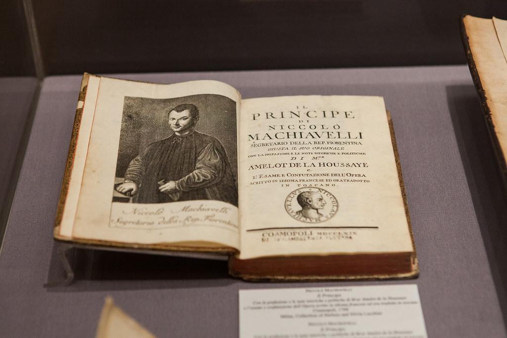 "5. Title page from Il Principe"" by Niccolò' Machiavelli"
