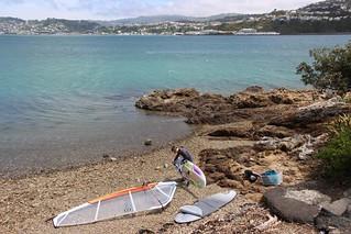 Windsurfer, Evans Bay