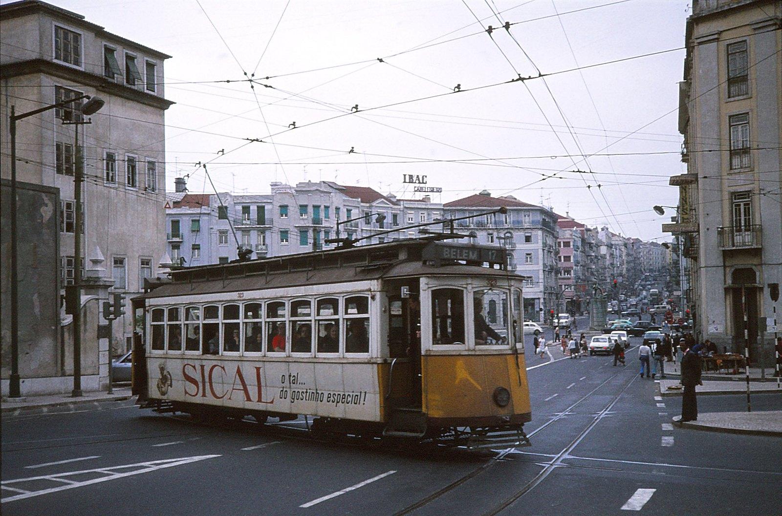 Eléctrico de Belém, Praça do Chile (Guy, 1974)
