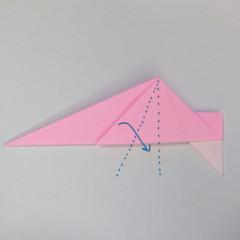 สอนการพับกระดาษเป็นลูกสุนัขชเนาเซอร์ (Origami Schnauzer Puppy) 040