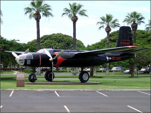 Douglas A-26 Invader - Hickam AFB | by CDay86