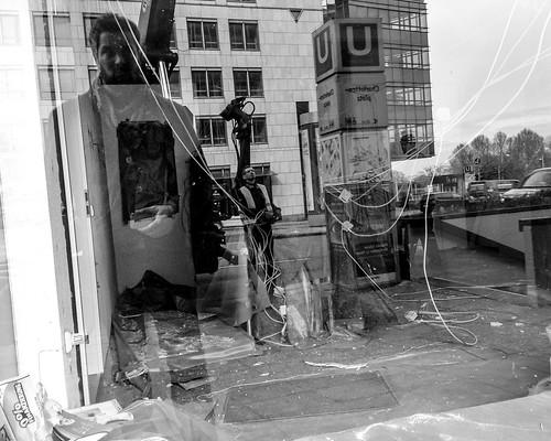 Self-Portrait, Charlottenplatz, Stuttgart | by -Gerard Collett-