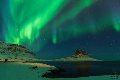 Kirkjufell Northern Lights (Iceland)  #Kirkjufell #iceland #aurora #northernlights #landscape #night #auroraborealis | by ScriS - www.scris.it