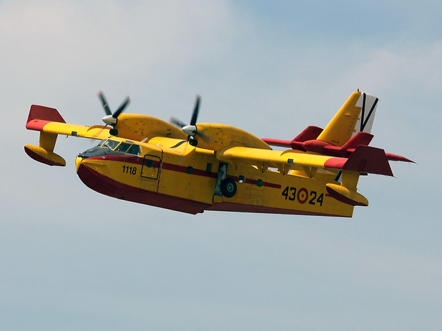 43-24 Canadair CL-215-6B11 CL-215T Spanish Air Force