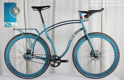 Muse Cycles Rhythm Roadster Winner of Gates Carbon Drive Award @ NAHBS 2013 | by Muse Cycles