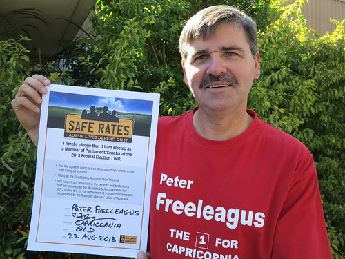 Peter Freeleagus-Capricornia-ALP | by Transport Workers Union of Australia