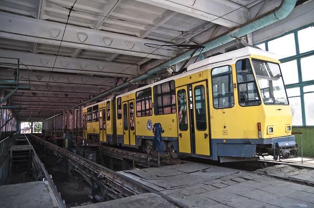 Old Berlin Trams in Almaty