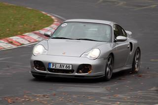 Porsche 911 996 Turbo @ Nürburgring Nordschleife 2013   by Stijn Braes