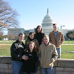 Family infront of Capitol