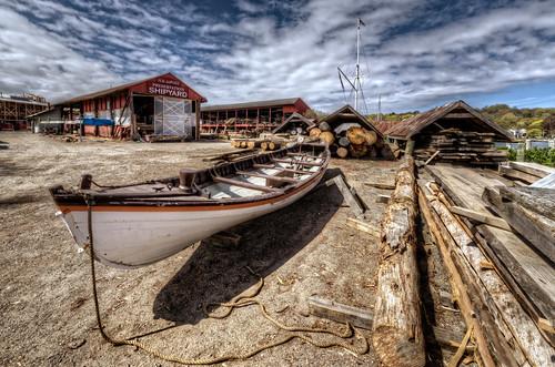 history boat fishing ship unitedstates connecticut ct historic henry shipyard dupont whaling mystic preservation stonington mysticseaport