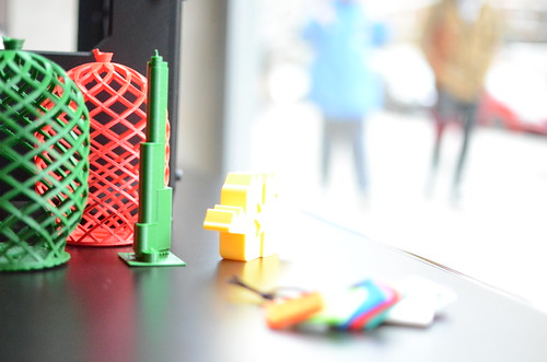 Just Make, the 3D printing pop up shop in Madrid   by Ultra-lab
