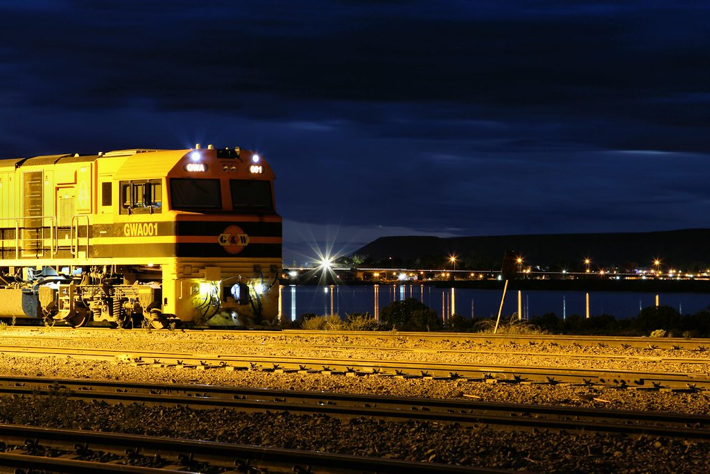 GWA001 Spencer Junction Yard Port Augusta 14 03 2014 by Daven Walters