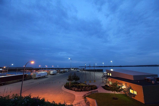 Eventide, Souris Ferry Terminal