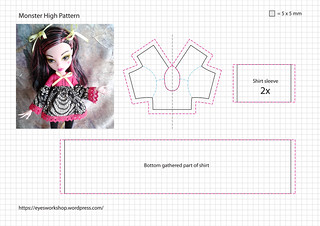 Monster High Pattern 2   by threeeyedghoul