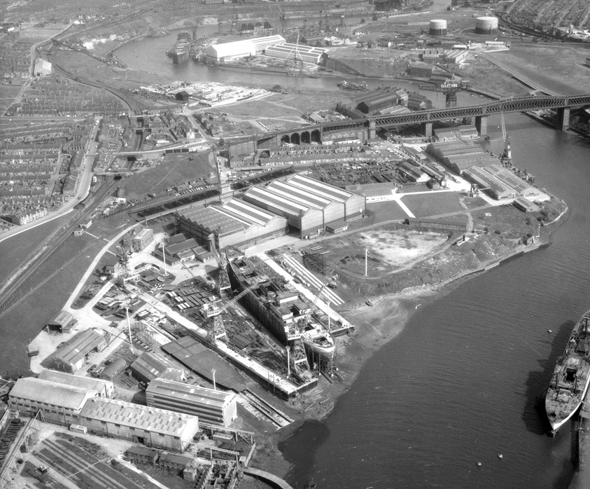 Southwick Shipyard of Austin & Pickersgill Ltd