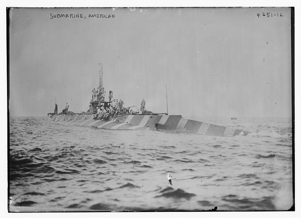 Submarine, American (LOC)