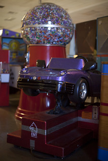 Coin-operated ride in Vegas!