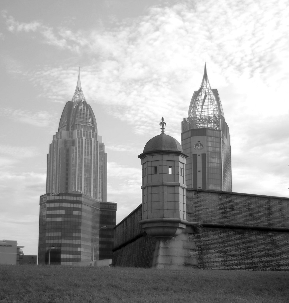 Towers | Morning in Mobile Al  | Jim Ward (Out Shooting