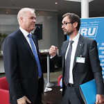 Gerard Schipper, General Delegate, Euro Contrôle Route and Michael Nielsen, IRU General Delegate to the EU